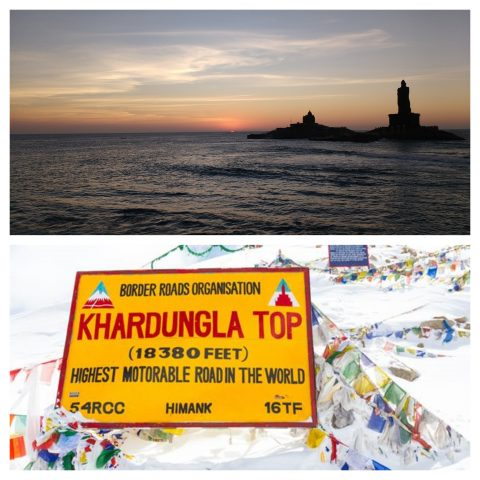 Kanyakumari to Khardung La Road Trip