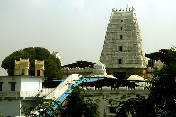 Bhadrachalam Temple is located on the shores of the Godavari River in the town of Bhadrachalam.