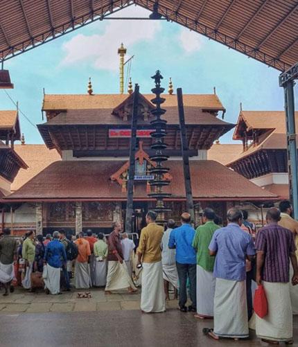 Guruvayur Temple is dedicated to Lord Guruvayurappan located in the town of Guruvayur in the state of Kerala.